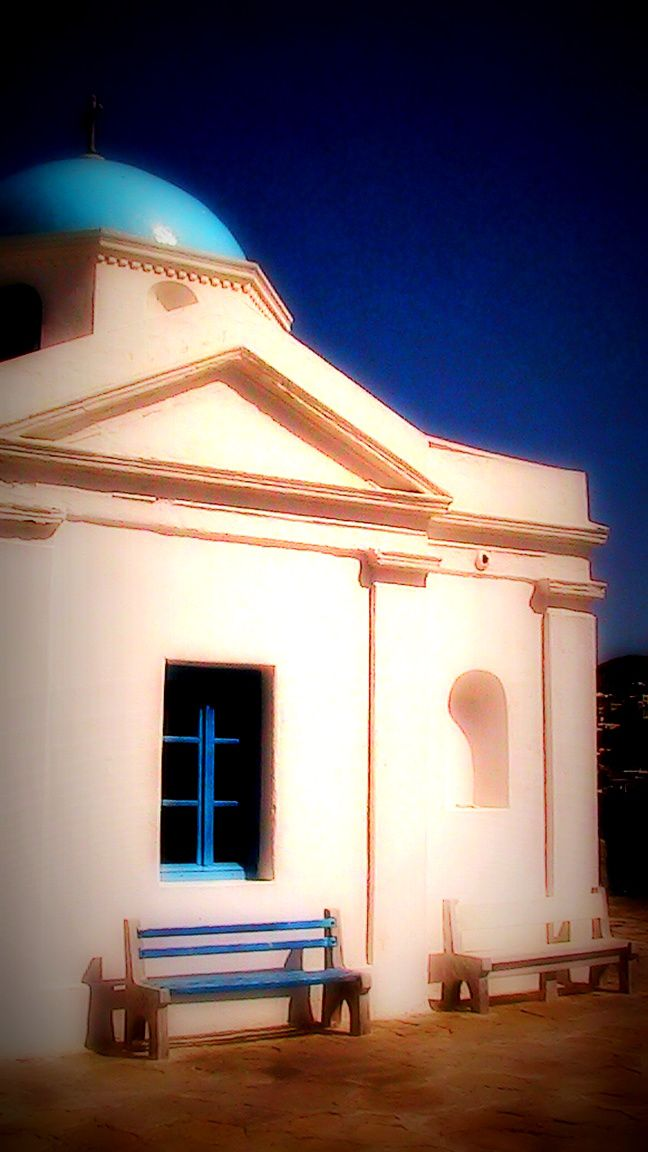 A sample of  traditional cycladic architecture...