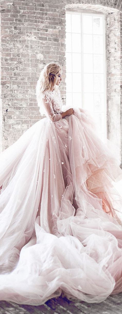 A wedding gown fit for a queen.