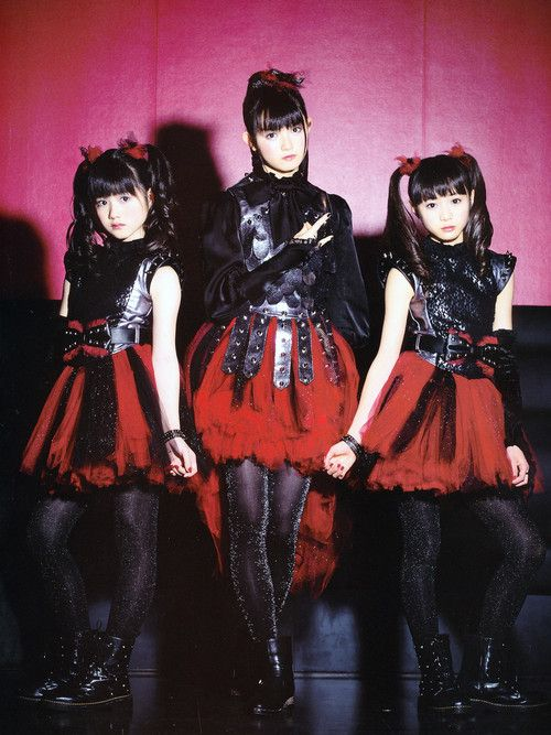 BABYMETAL Fair warning: I am going to clutter my feed up with a lot of these for a little while. Then I will be distracted by something else, I'm sure. -- Matti