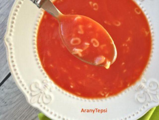 Egy finom Édes paradicsomleves betűtésztával ebédre vagy vacsorára? Édes paradicsomleves betűtésztával Receptek a Mindmegette.hu Recept gyűjteményében!