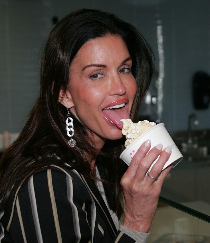 Celebrities eating dick