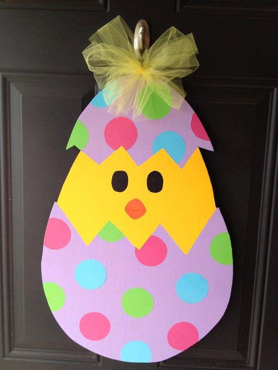 Easter Wooden Door Hanger