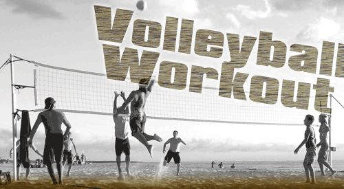 Volleyball workout- better blocking