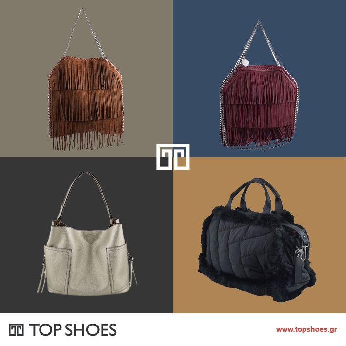 Τσάντες! Το πιο πολύτιμο γυναικείο αξεσουάρ, που ολοκληρώνει και αναδεικνύει κάθε σας ντύσιμο! Η φετινή μόδα προστάζει τσάντες με άπλετο χώρο, που χωράνε όλα σας τα μυστικά! Ανακαλύψτε τις στο Topshoes! Δείτε όλη τη συλλογή εδώ: https://www.topshoes.gr/αξεσουάρ