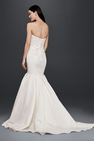 Trumpet Wedding Dress With Lace Bodice Style WG3810