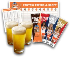 FREE Fantasy Football Draft Kit at Hooters on http://www.icravefreebies.com/