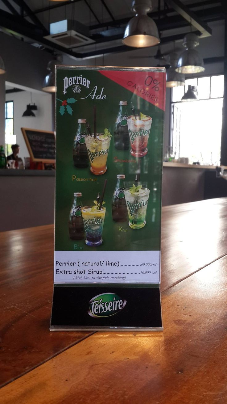 Perrier Ade & Teisseire Mix presentation