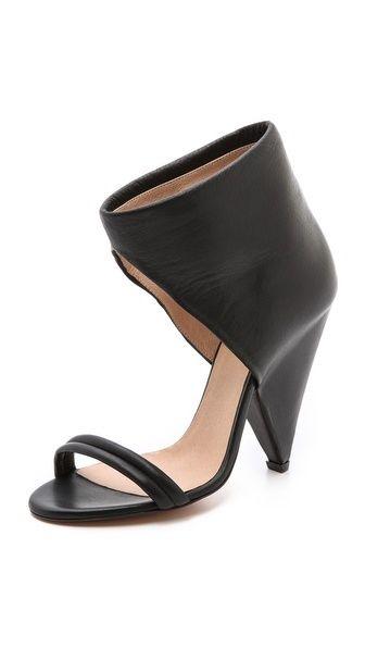 IRO Saika Cone Heel Sandals. $685.00. #fashion #women #shoes #sandals