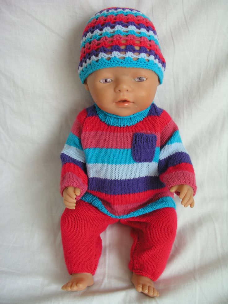 Knitting for Baby Born