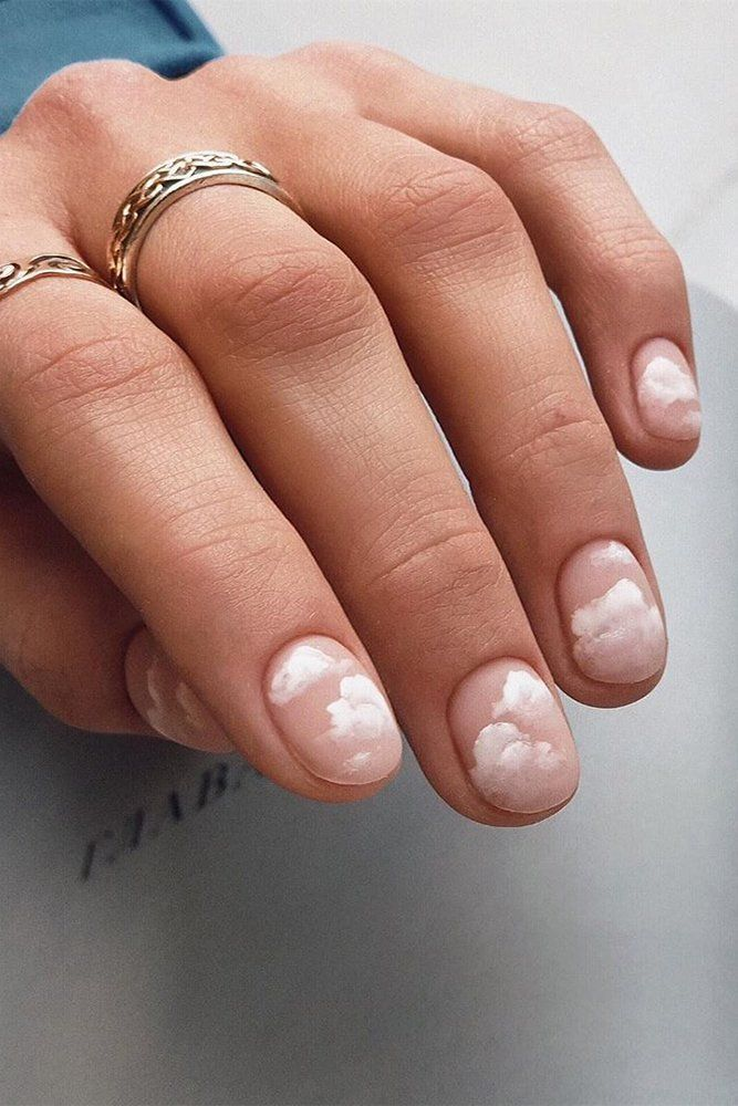 30 Perfect Pink And White Nails For Brides Wedding Forward In 2020 Cow Nails Sophisticated Nails Bride Nails