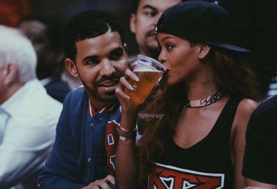 Pinterest: @1jasminedesiree I Drake & Rihanna
