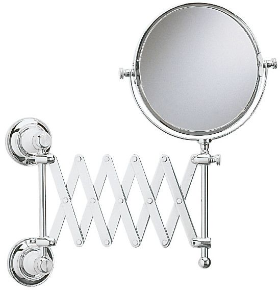 Heritage Clifton Extendable Mirror Chrome