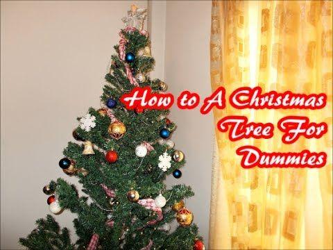 Στολισμός Χριστουγεννιάτικου Δέντρου 2 Christmas Tree Decoration For Dum...