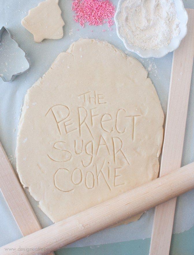 Perfect Cut Out Sugar Cookies | Design Eat Repeat