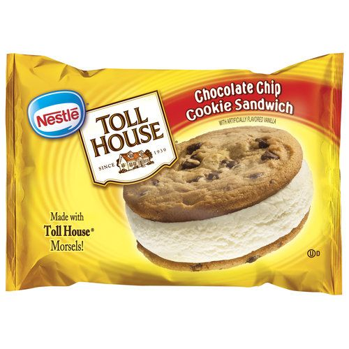 Nestle Toll House | Chocolate Chip Cookie Ice Cream Sandwich
