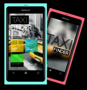 Taxi Finder - new app for Windows Phone (Metro UI). Made by JOJO Mobile Polska