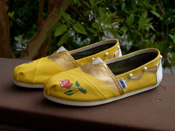 KOOAK Kustom order  Belle Toms Flats by KammysOneOfAKind on Etsy, $75.00