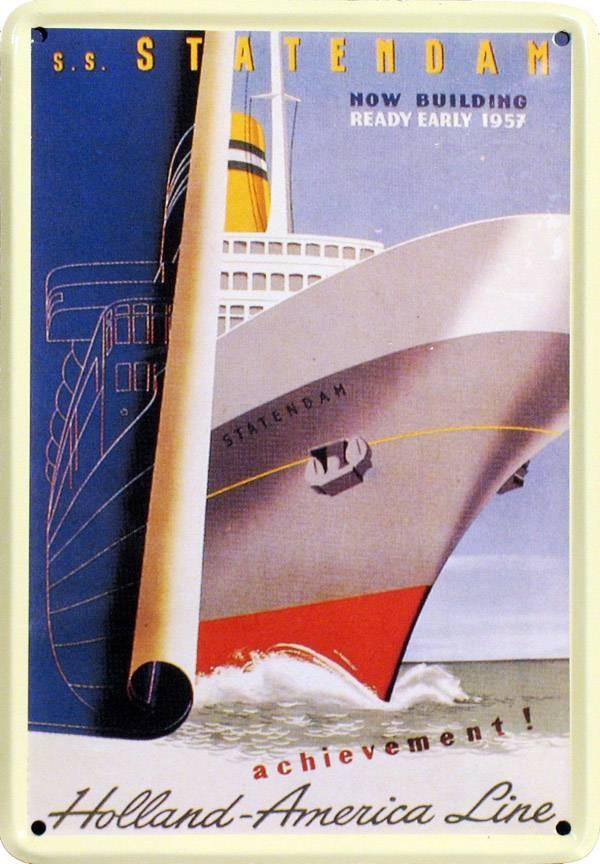 Holland-America Line - S.S. Statendam