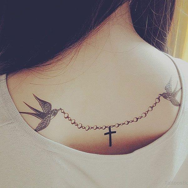 Best 25+ Chest Tattoos For Women Ideas On Pinterest