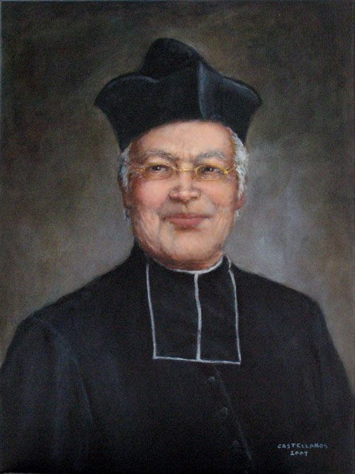 Portrait of Father Louis Brisson, Founder of the Oblates