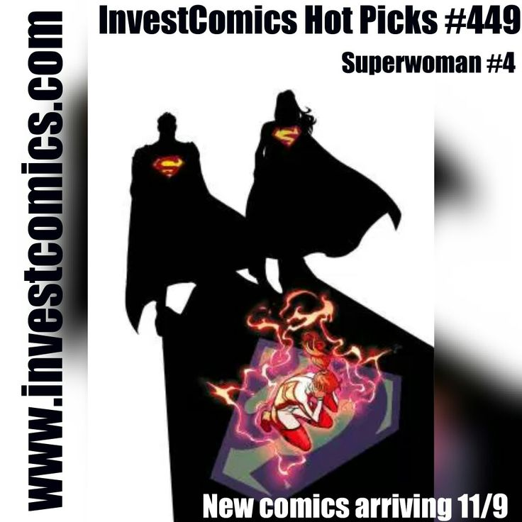 New comics on Wednesday 11/9. Read the InvestComics Hot Picks article now and get your read and speculation on. #ironman #marvelcomics #marvel #dccomics #dc #spiderman #batman #blackpanther #captainamerica #deadpool #deathstroke #teentitans #flash #jla #archie #batgirl #tmnt #comics #comicbooks #comicbook #comicsforsale #comiccollection #socialmedia #marketing