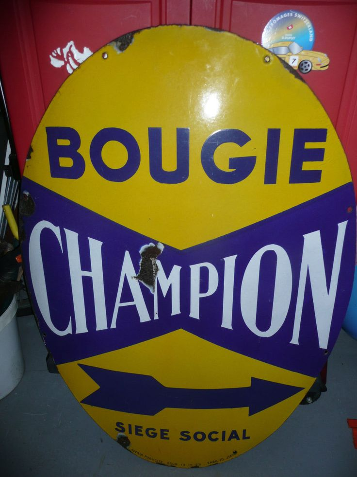 Bougies Champion Siège socila