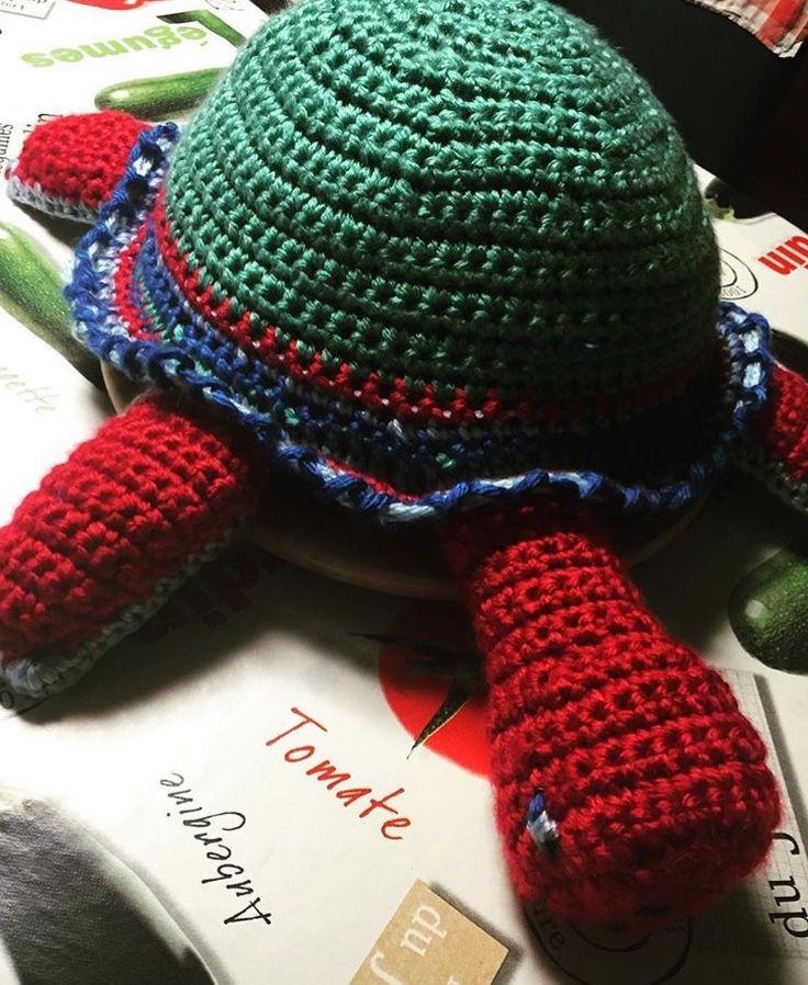 Gehaakte schildpad