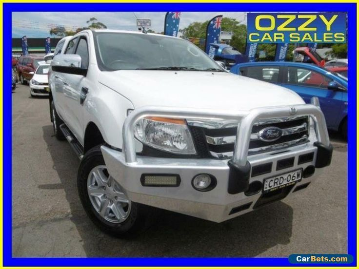 2013 Ford Ranger PX XLT 3.2 (4x4) White Automatic 6sp A Dual Cab Utility #ford #ranger #forsale #australia