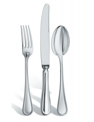 Collection Inglese Set 3 pieces:fork, knife, spoonSterling Silver Zaramella Argenti #zaramellaargenti #zaflatware