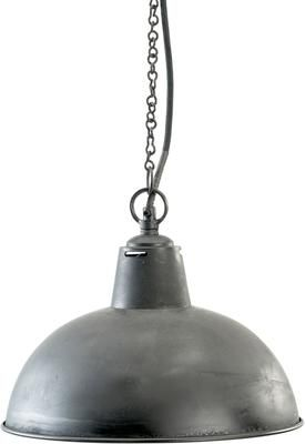 Black Dome Hanging Lamp by Out There Interiors