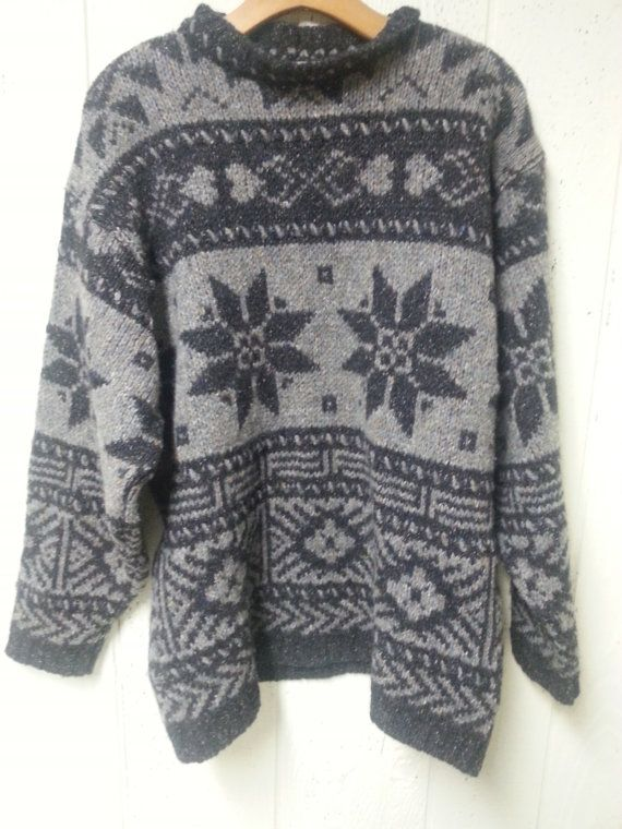 Wool and Silk Christmas Sweater by vitch on Etsy