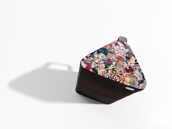 """Libratone, Scandinavian high-end speakers. Special edition made by Lizzy Courage """"Candy Love"""""""