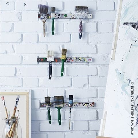 Verlies je artistieke ziel niet. #IKEABE #storage #painting  Ne perdez pas votre âme d'artiste #IKEABE #storage #painting
