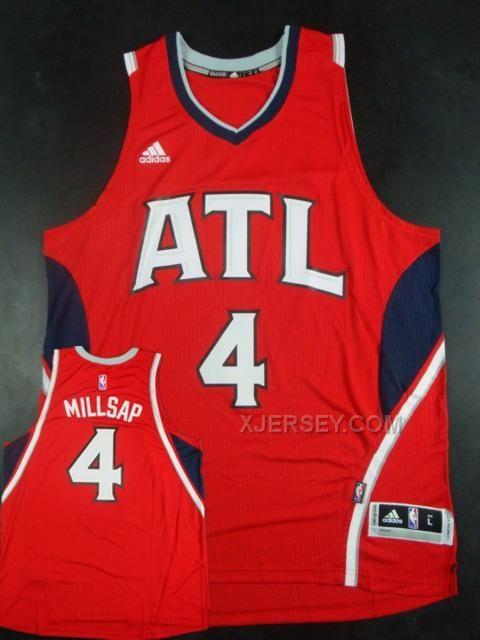 http://www.xjersey.com/hawks-4-paul-millsap-red-new-revolution-30-jersey.html HAWKS 4 PAUL MILLSAP RED NEW REVOLUTION 30 JERSEY Only $34.00 , Free Shipping!