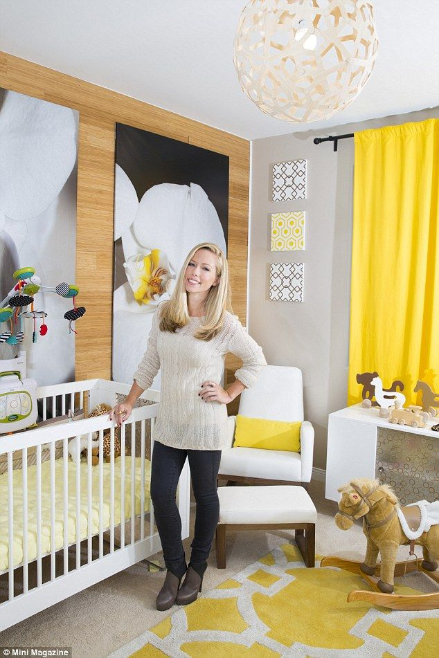 Kendra Wilkinson dotes on children as she shows off their rooms #dailymail