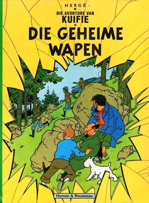 Couverture de Tintin (en langues étrangères) -18Afrikaans- Die Geheime Wapen