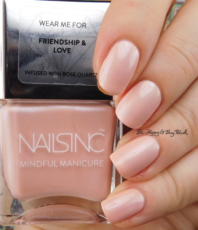 Nails Inc Mindful Manicure Better Together | Be Happy And Buy Polish https://behappyandbuypolish.com/2017/04/22/nails-inc-mindful-manicure-nail-polish-collection/