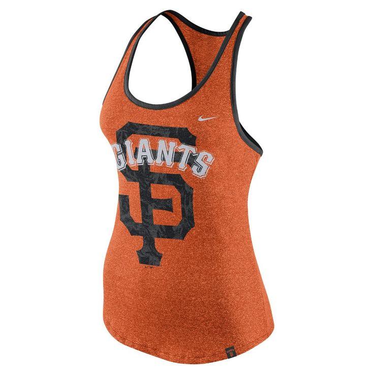 Nike Marled (MLB Giants) Women's Tank Size Medium (Orange)