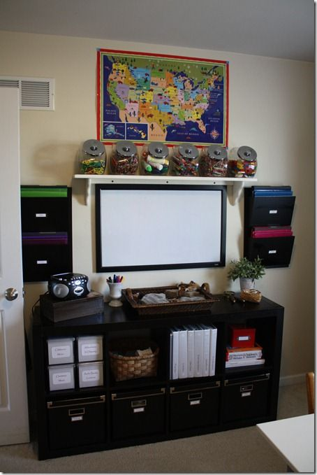 I *double puffy-heart* homeschool classroom organization! ♥♥