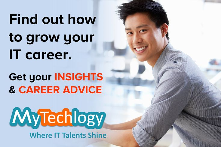 Get #insights and #careeradvice to grow in your IT career.