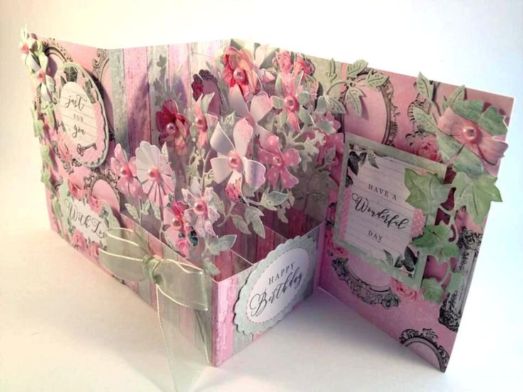 Shabby Chic Inspiration- Pretties in Pink – Craftwork Cards Blog