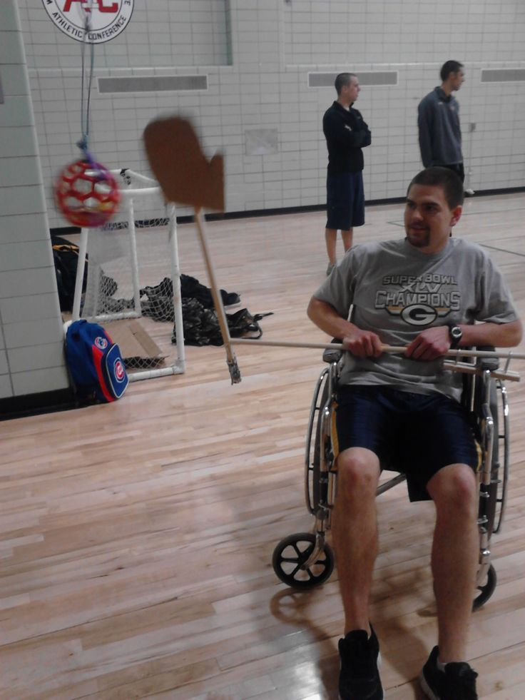 adapted pe games for wheelchairs