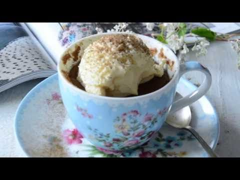 Babeczki kawowe z mikrofali, gotowe w 5 min.