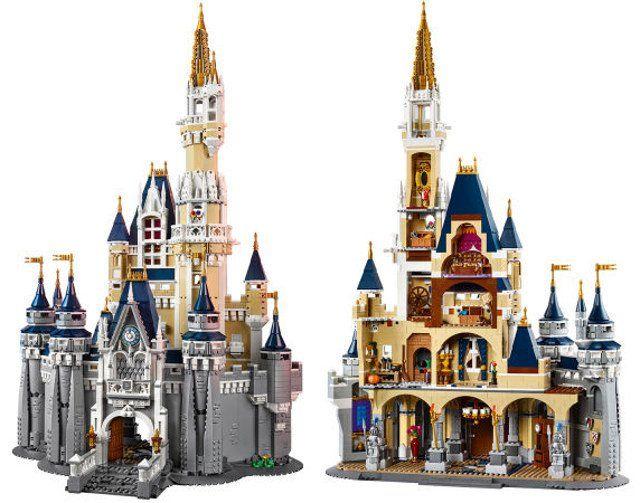Château Disney briques à construire 4080 pièces compatible lego