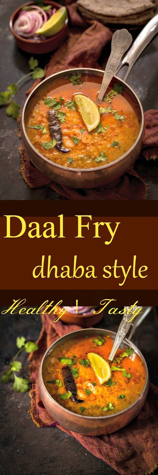 Jagruti's Cooking Odyssey: Dhaba Style Daal / Dal / Dahl Fry