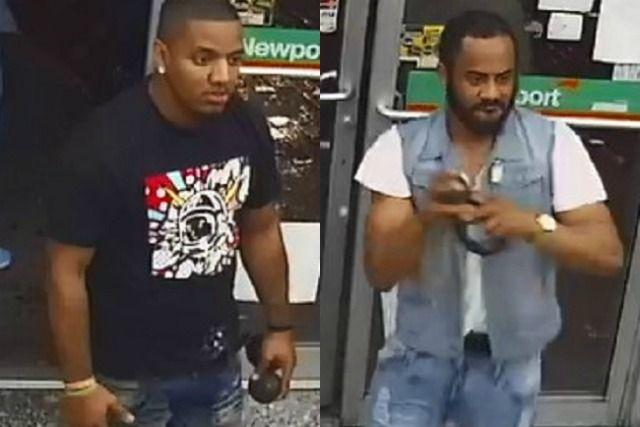 VIDEO: Gringos desquiciados atacaron a dependiente de minimarket con paltas