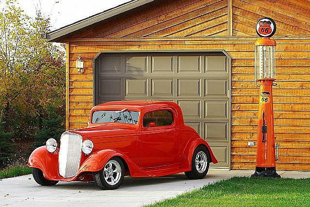 Ford Street Rod....love this car, I am a 67 year old Grandmother...but, I could see myself driving this.