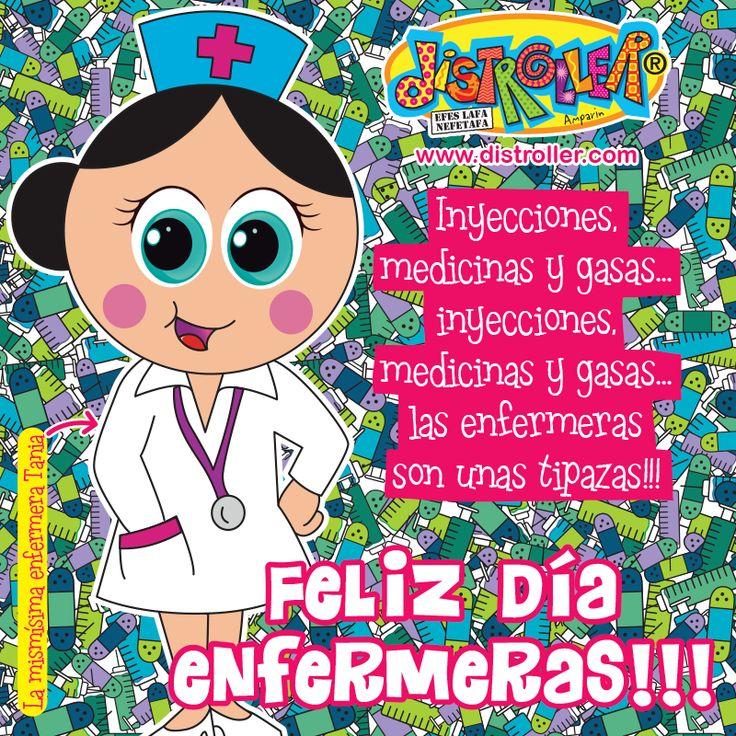 Mil gracias por poner la inyección curadora !!! Feliz Dia Internacional De La Enfermera