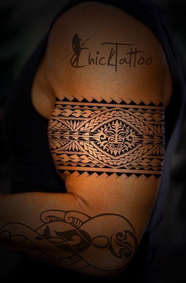 Custom Polynesian Tattoo Designs ready for your tattoo artist!
