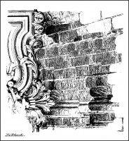 LaBlanche Stempel: Mauer Hintergrund - Hobby-Crafts24.eu